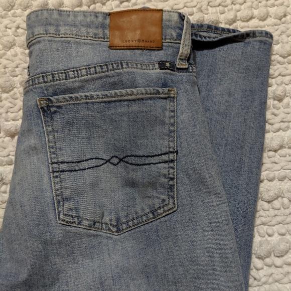 Lucky Brand Denim - Lucky Brand Sweet Crop lightwash jeans